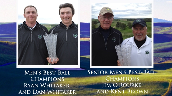 Champions take charge at the 56th Men's Amateur and 15th Senior Men's Amateur Best-Ball Championship